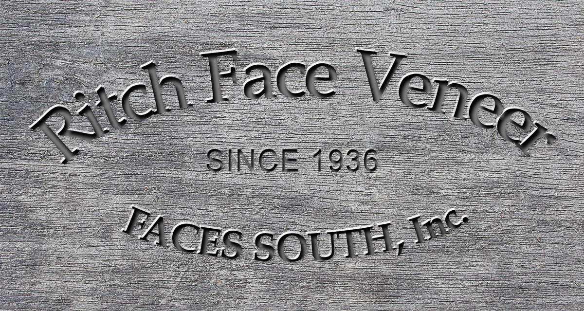 Ritchfaceveneer carved in wood